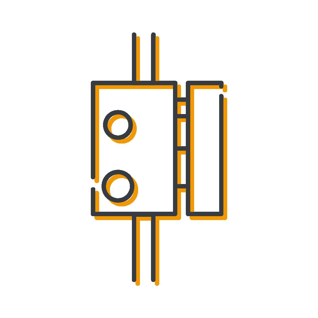 Icône serrures en applique produits serrurerie Mertens