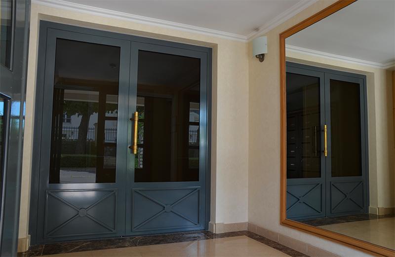 Portes d'entrées immeuble serrure Serrurier Picard
